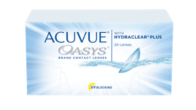 Get ACUVUE OASYS with HYDRACLEAR PLUS 24pk Online