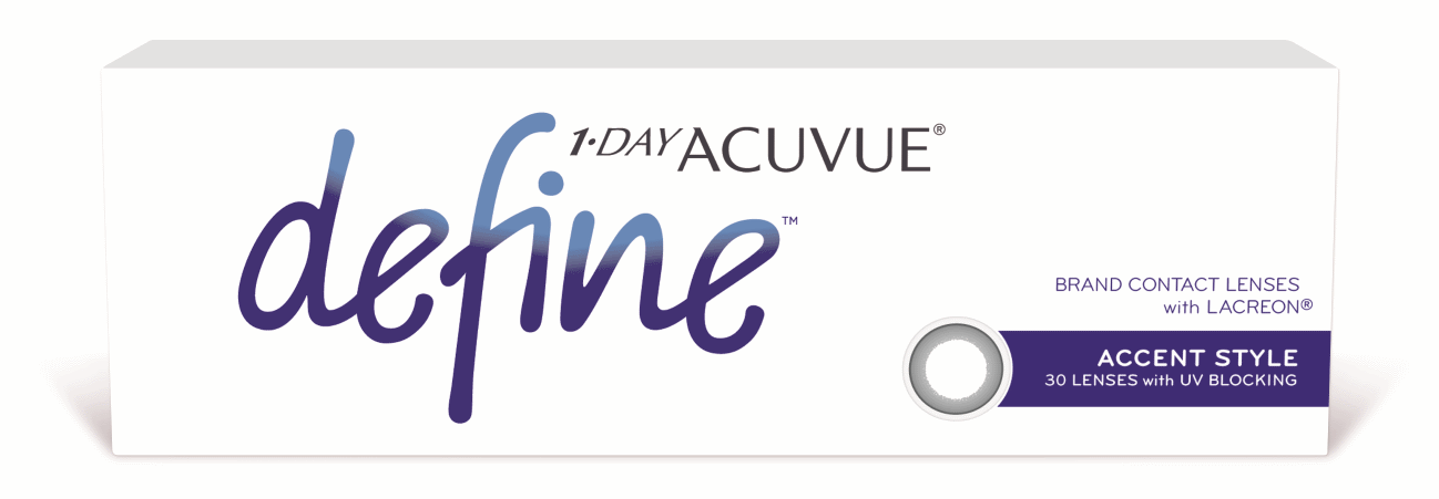 Buy 1 Day Acuvue define contact lenses