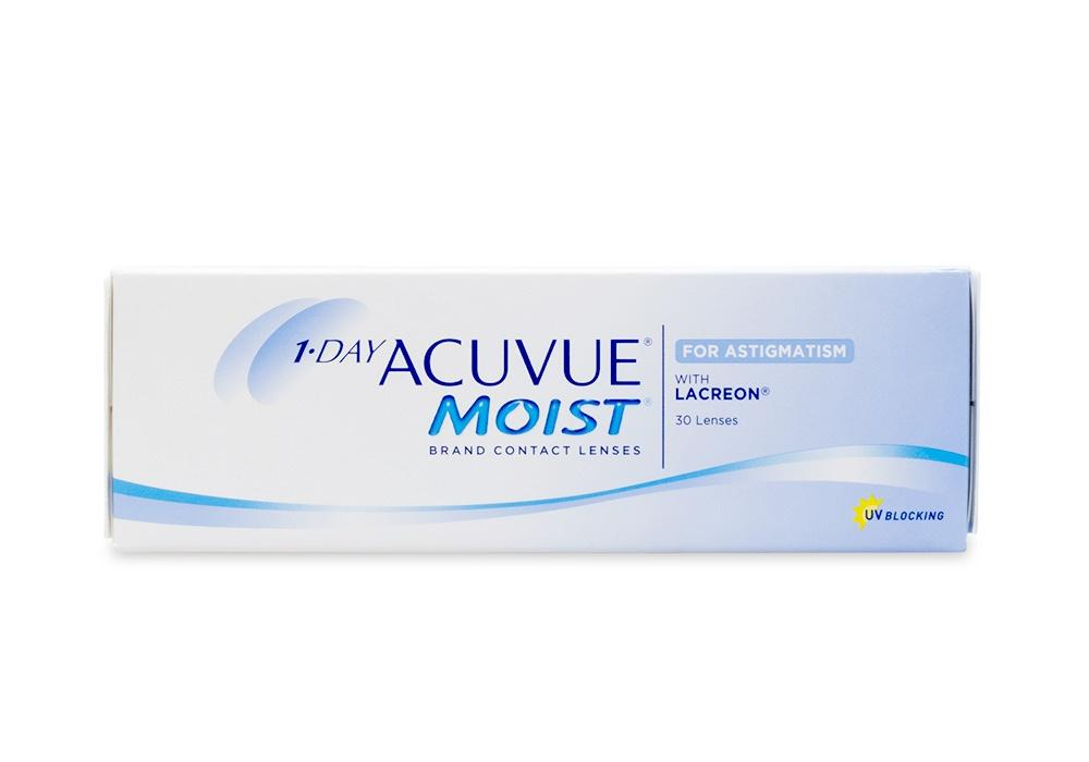 Check Out 1-DAY ACUVUE MOIST for ASTIGMATISM 30pk