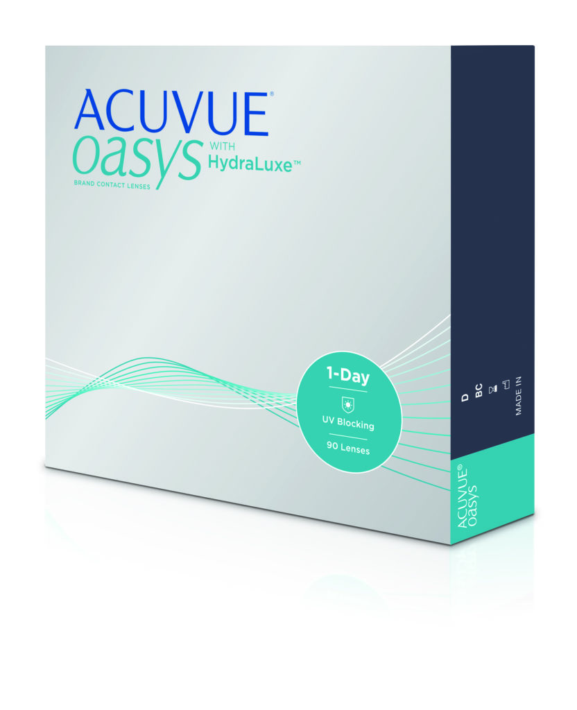 Order ACUVUE OASYS 1-Day with HydraLuxe 90pk Online