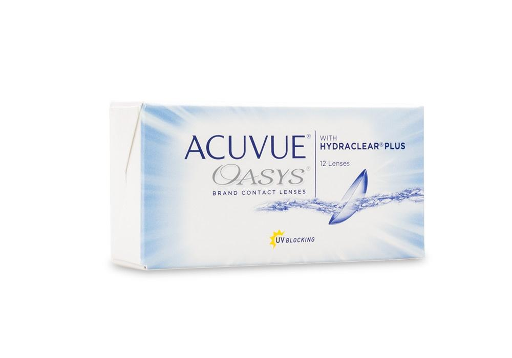 Get ACUVUE OASYS with HYDRACLEAR PLUS 12pk Online