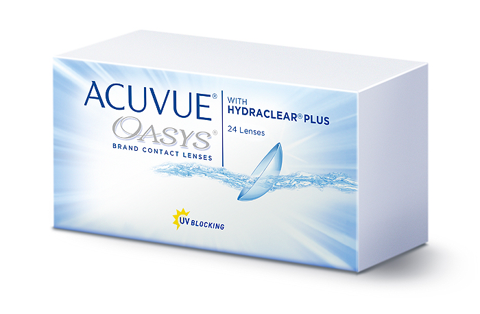 Purchase ACUVUE OASYS with HYDRACLEAR PLUS 24pk