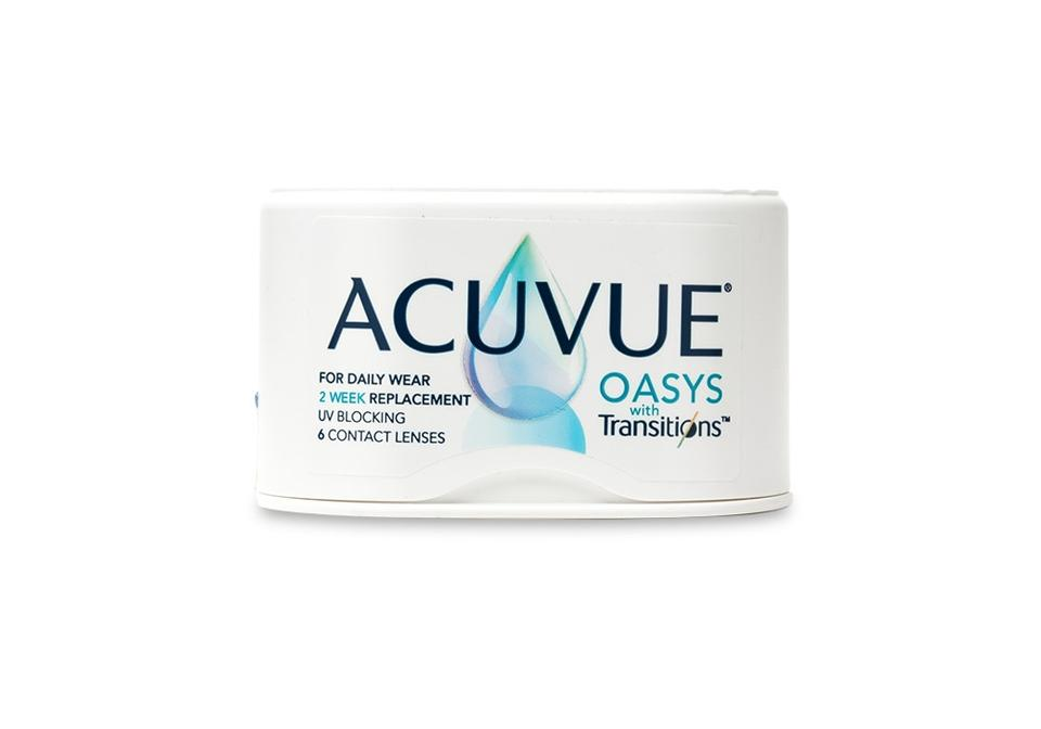Purchase ACUVUE OASYS with Transitions 6pk Online