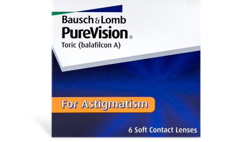 Purchase Bausch & Lomb PureVision Toric (PureVision For Astigmatism) 6pk