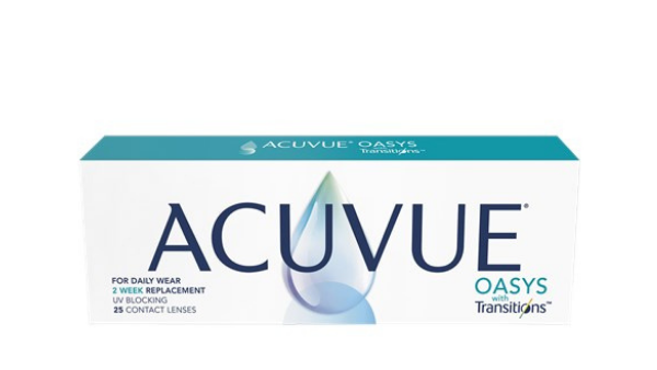Shop ACUVUE OASYS with Transitions 25pk